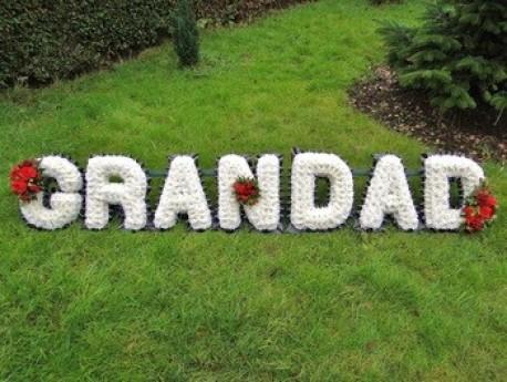 Grandad lettering